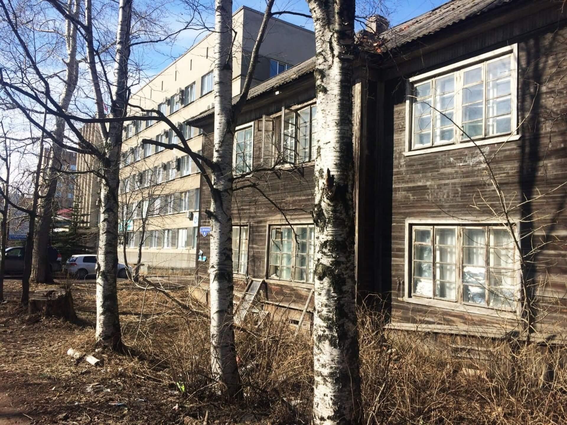 Аварийное жилье Архангельской области